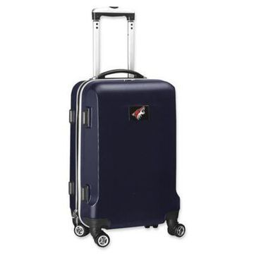 NHL Arizona Coyotes 20-Inch Hardside Carry On Spinner in Navy
