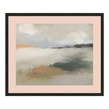 PTM Images Abstract Wetlands 26-Inch x 22-Inch Framed Wall Art