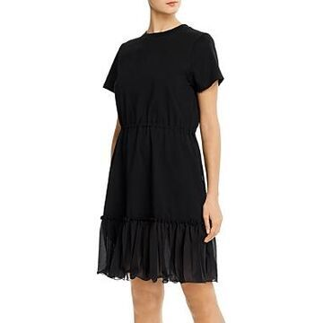 See by Chloe Ruffled T-Shirt Dress