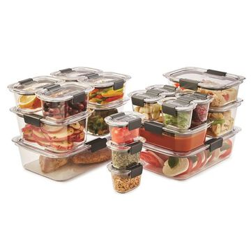Rubbermaid Brilliance 36-piece Leak-Proof Food Storage Set
