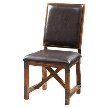INK+IVY Lancaster Counter Stool in Chocolate