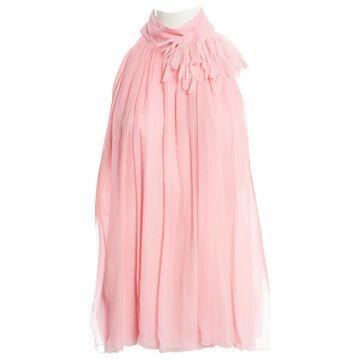 Blumarine Pink Silk Tops