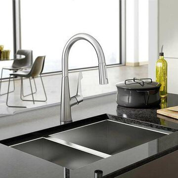 Hansgrohe Talis M Pull Down Kitchen Faucet Chrome