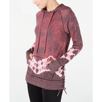 Tie-Dyed Lace-Up Hoodie, Created for Macy's