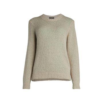 Piazza Sempione Open Wave Knit Sweater