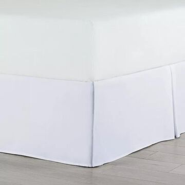 Martex Pleated Bedskirt, White, King