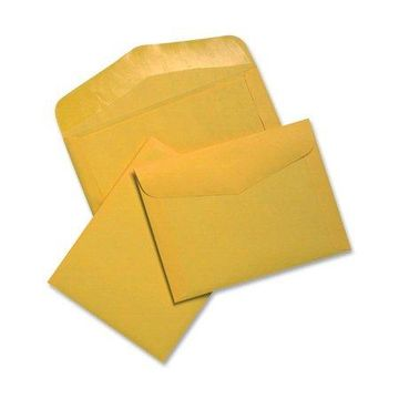 Quality Park, QUA54301, Extra Heavyweight Document Envelopes, 100 / Box, Brown Kraft