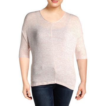 Cupio Womens T-Shirt Knit Striped