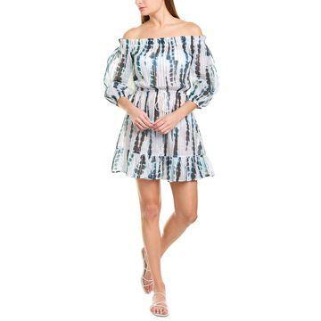 Shoshanna Off-The-Shoulder Cover-Up Dress