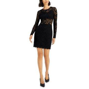 Bar Iii Lace Mini Dress, Created for Macy's