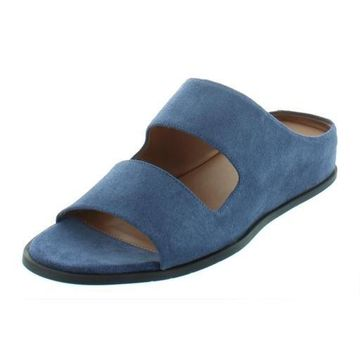 Aquatalia Womens Abbey Suede Slide Wedges