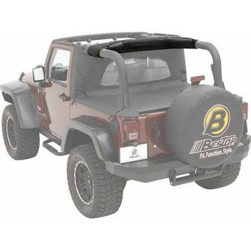 Bestop 80040-35 Jeep Wrangler Soundbar Cap, Black Diamond