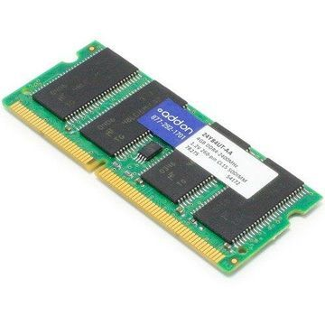 AddOn 4GB DDR4 SDRAM Memory Module - 4 GB (1 x 4 GB) DDR4 SDRAM - CL15 - 1.20 V - Non-ECC - Unbuffered - 260-pin - SoDIMM