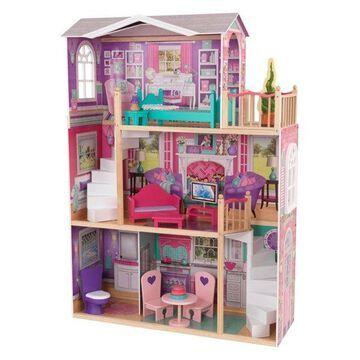 KidKraft Elegant 18 inch Doll Manor with Furniture