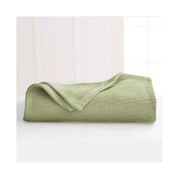 Martex Cotton Diagonal-Weave King Blanket Bedding