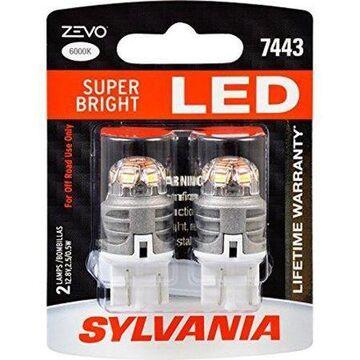 SYLVANIA ZEVO 7443 T20 White LED Bulb (Pack of 2)