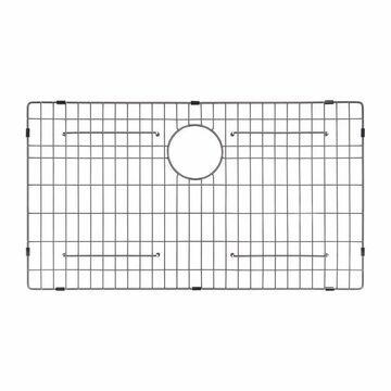 Kraus KRAUS Stainless Steel Bottom Grid for 32-in Undermount Double Bowl Kitchen Sink KBU32/18 (12-1/4-in x 14-5/8-in)