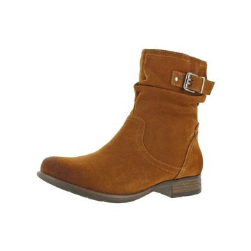 Earth Womens Beaufort Ankle Boots Suede Slouchy