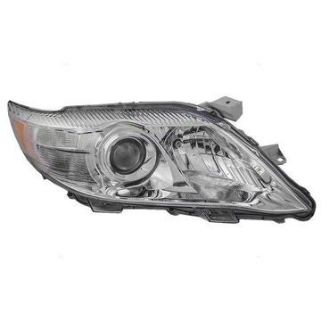 Headlight Depo - 10-11 Toyotaota Camry USA (Exclude SE Model) Head Lamp Assembly RIGHT HAND / PASSENGER SIDE CAPA Certified