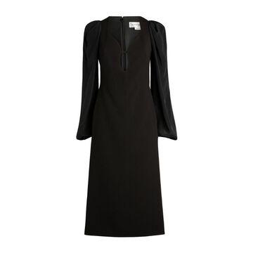Victoria Beckham Keyhole Midi Dress