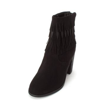 Yellow Box Womens Sunny Fabric Closed Toe Ankle Fashion Boots