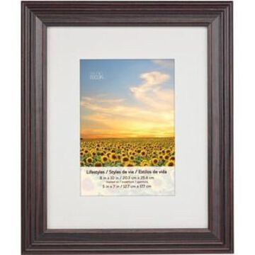 Black Cherry Frame With Mat, Lifestyles By Studio Decor