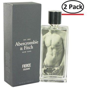 Fierce by Abercrombie & Fitch Cologne Spray 6.7 oz for Men (Package of 2)