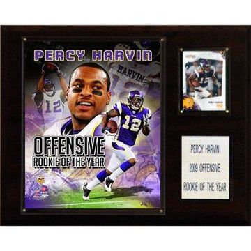 C&I Collectables NFL 12x15 Percy Harvin Rookie of the Year Minnesota Vikings Player Plaque