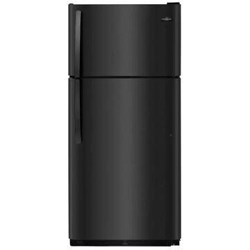 Frigidaire 18-cu ft Top-Freezer Refrigerator (Black)   FFTR1814TB
