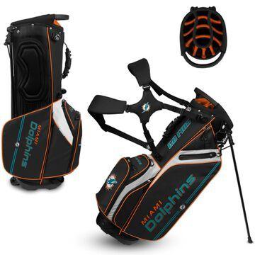 WinCraft Miami Dolphins Caddie Carry Hybrid Golf Bag