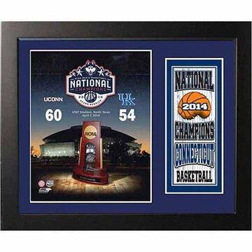 NCAA 11x14 Deluxe Photo Frame, University of Connecticut Champions