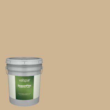 Valspar SeasonFlex Satin Whole Wheat Hgsw2186 Exterior Paint (5-Gallon)