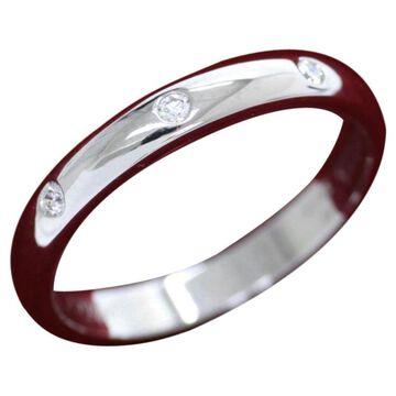 Cartier Silver Platinum Ring