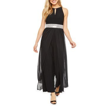 R & M Richards Sleeveless Jumpsuit