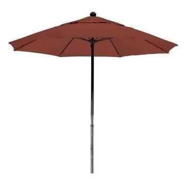 California Umbrella Oceanside 7.5' Black Market Umbrella, Henna