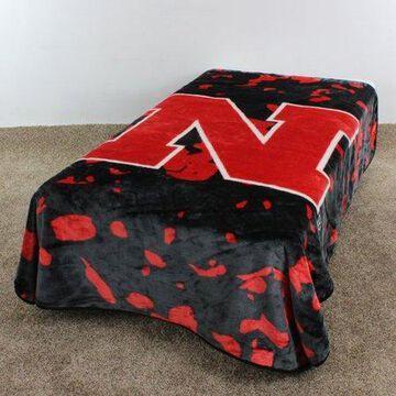 College Covers NCAA Nebraska Throw Blanket
