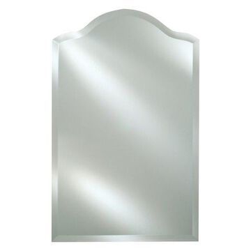 Afina Radiance Frameless Bevel Scallop Top Mirror, 20x35