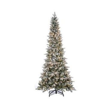 Sterling 7.5Ft. Lightly Flocked Canyon Fir with 450 Clear Lights