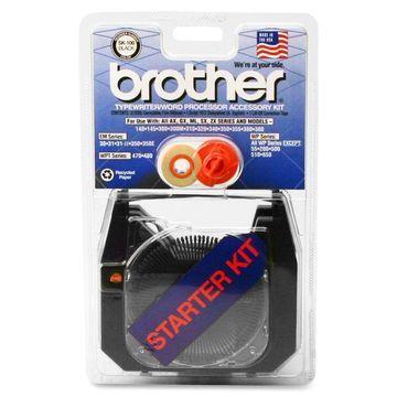 Brother SK100 Ribbon - Black - 1 Each
