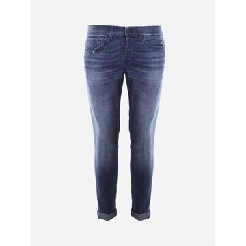 Dondup Stretch Cotton Jeans With Cuffs On The Bottom