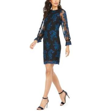 Taylor Embroidered-Floral Dress