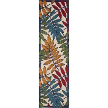 Nourison Aloha ALH18 Multi 2' x 6' Runner Rug