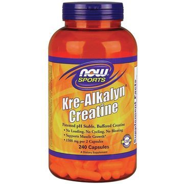 Kre-Alkalyn Creatine Now Foods 240 Caps