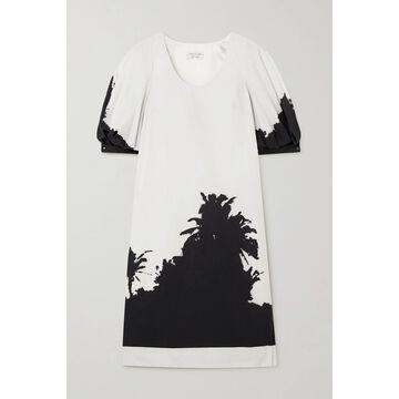 Dries Van Noten - Dean Printed Cotton-poplin Dress - White