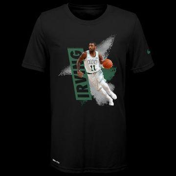 Mitchell & Ness Exp Mez T-Shirt - Boston Celtics - Black - Irving, Kyrie