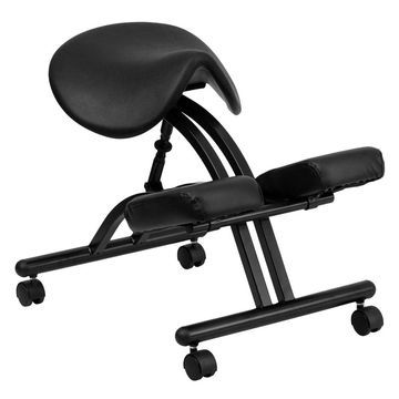 Ergonomic Kneeling Chair with Saddle Seat - Flash Furniture