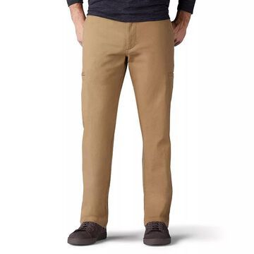 Men's Lee Performance Series Straight-Fit Extreme Comfort Cargo Pants, Size: 42 X 32, Med Beige
