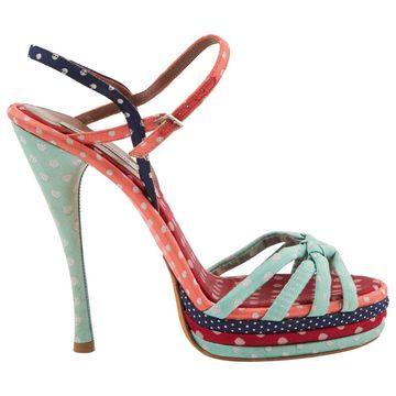 Tabitha Simmons Multicolour Cloth Sandals