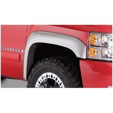 Bushwacker 07-14 Chevy Silverado 2500 HD Extend-A-Fender Style Flares 2pc - Black