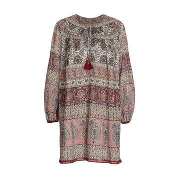 Derek Lam 10 Crosby Fairere Cotton Tiered Dress